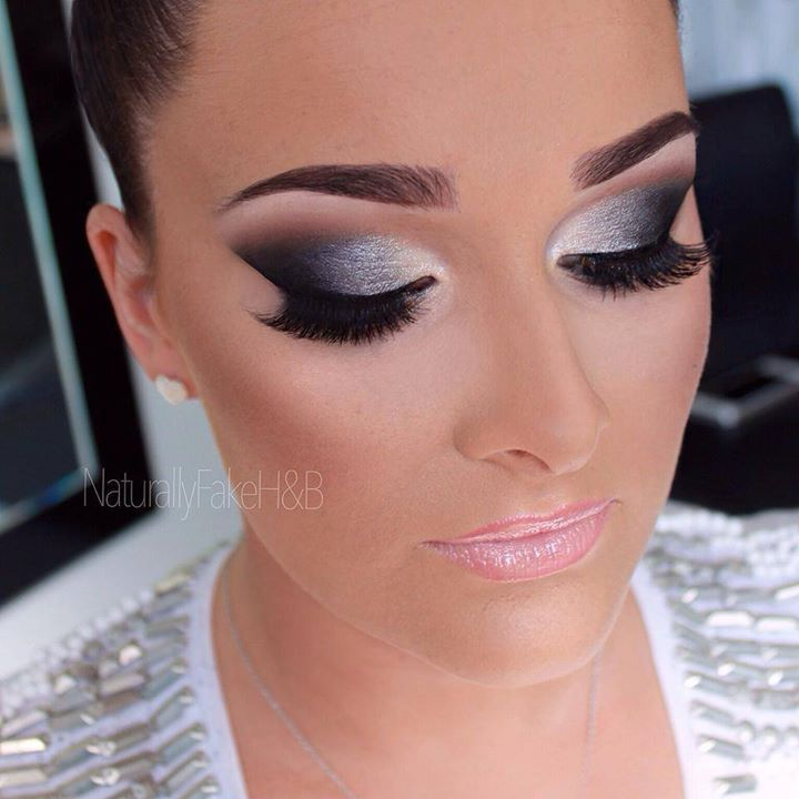 Dancesport MakeUp | Great contouring on the cheeks and eye makeup with a bold brow!