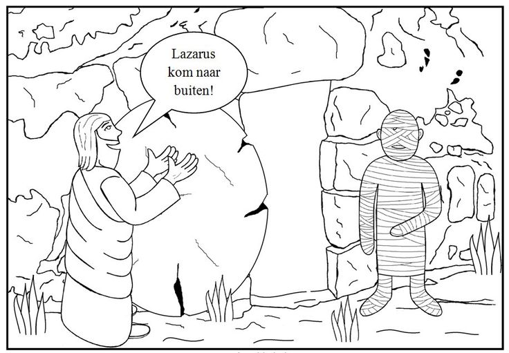 Lazarus Pages For Kindergarten Coloring Pages