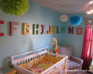 Bright U0026 Bold Nursery Design