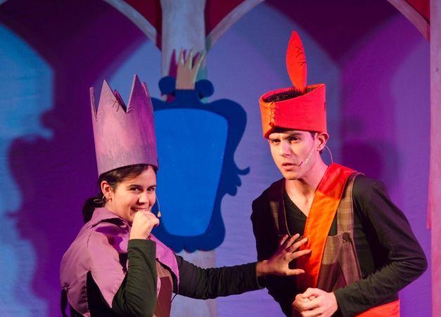 Obra de teatro infantil para escuelas. Ideal para educación primaria o para parvulario sobre la historia de Blancanieves