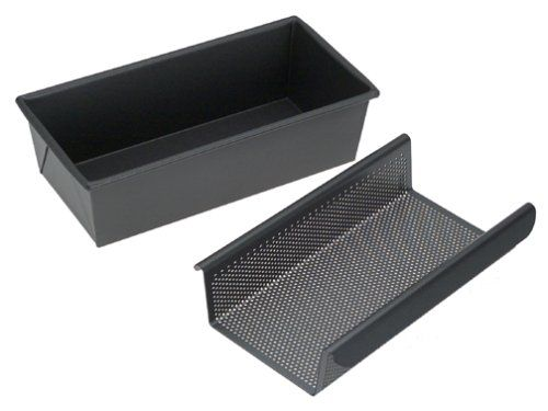 Chicago Metallic Professional 2-Piece Low-Fat Meatloaf Pan Set >>> Unbelievable  item right here! : Bread and Loaf Pans