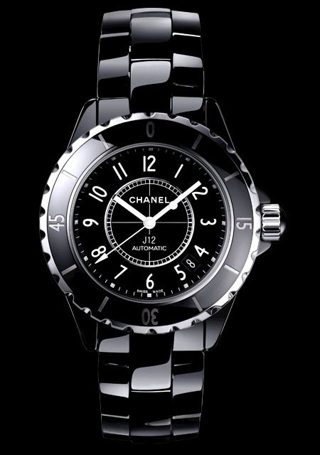 Only real men rock the Chanel J12 Chromatic :)