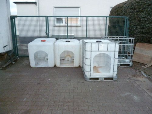 ibc tote chicken coop - Google Search