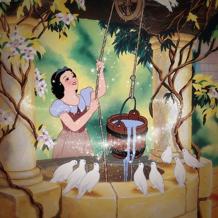 Snow White at the well                                                       …