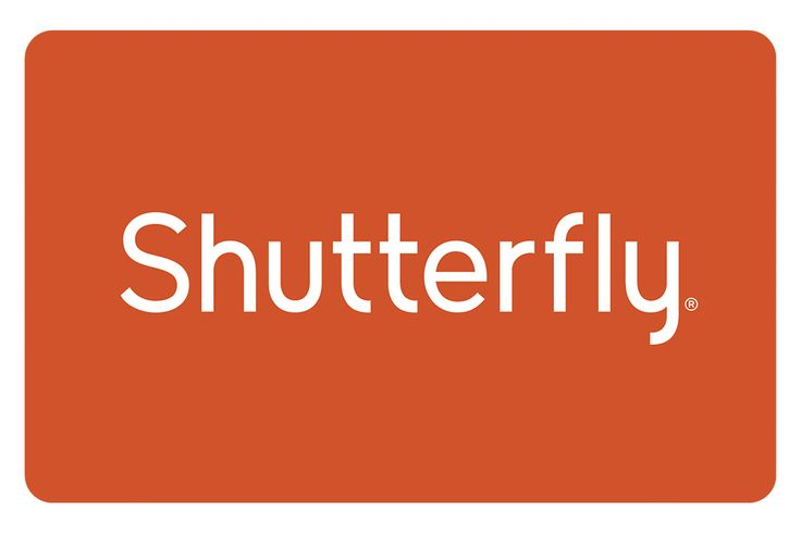 Shutterfly Gift Card - would love to make books from each of our trips!!