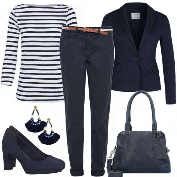 BlueBusiness Damen Outfit – Komplettes Business Ou…