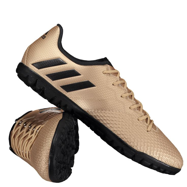 Chuteira Adidas Messi 16.3 TF Society Dourada Somente na FutFanatics você compra agora Chuteira Adidas Messi 16.3 TF Society Dourada por apenas R$ 269.90. Society. Por apenas 269.90