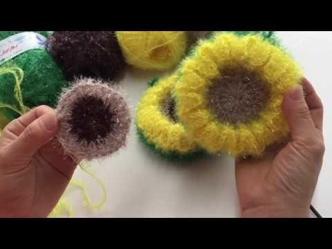 [코바늘]달인 이점덕의 사탕수세미 뜨개질(한올스.부평한올뜨개방) - YouTube