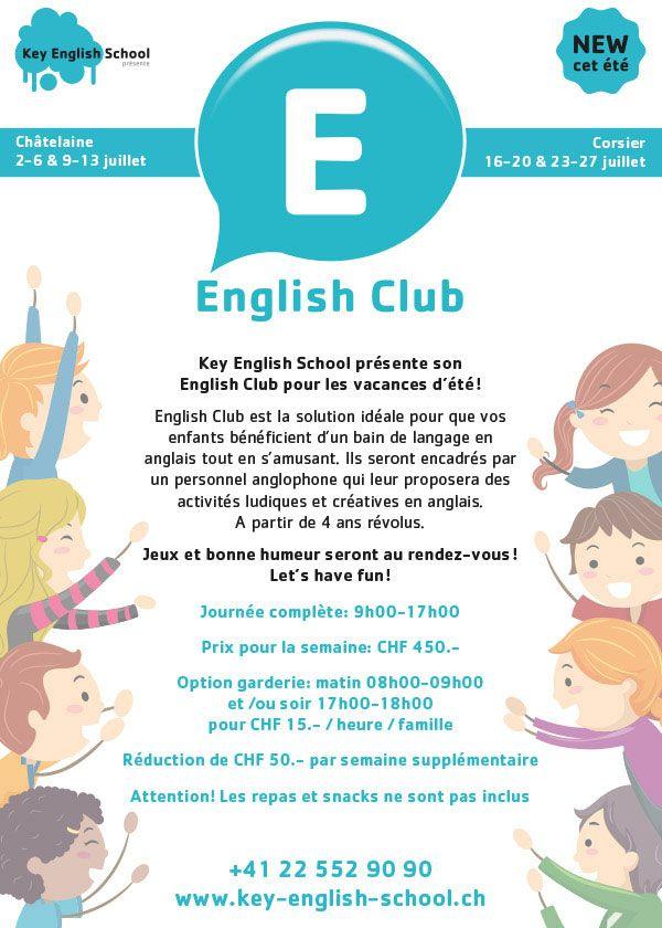 Key English School English Club July 2018