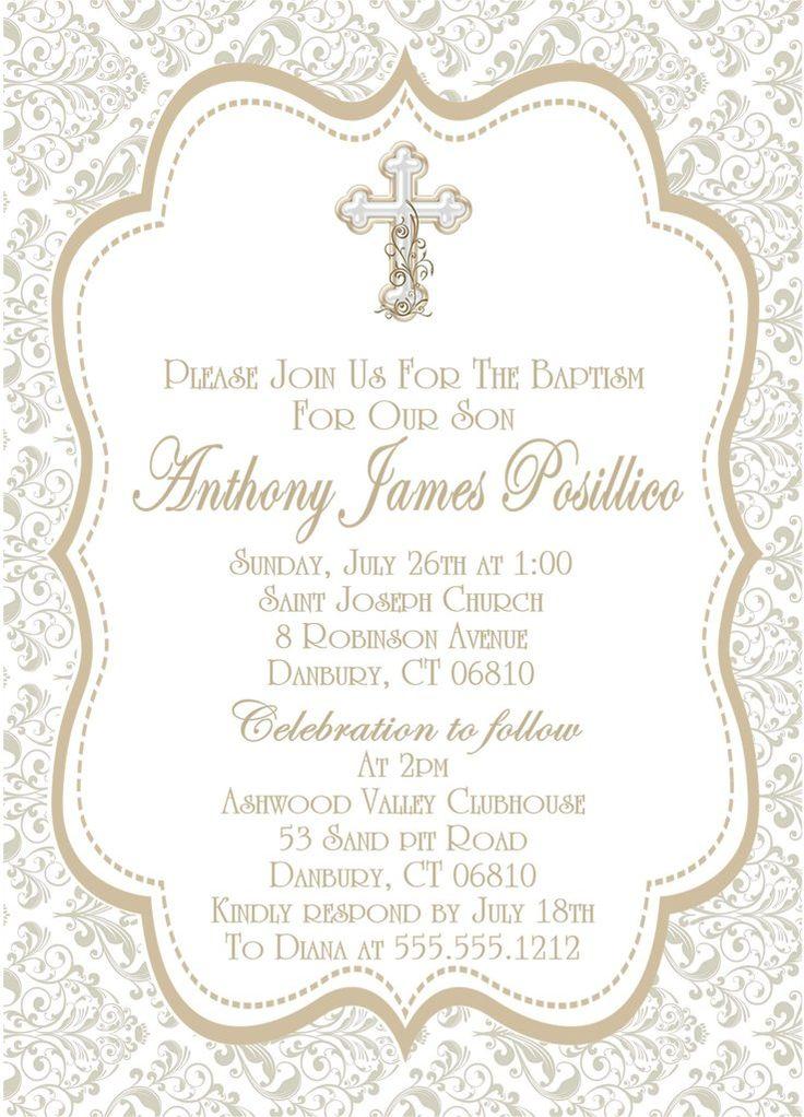 Best 25+ Baby dedication invitation ideas on Pinterest | Baptism ...