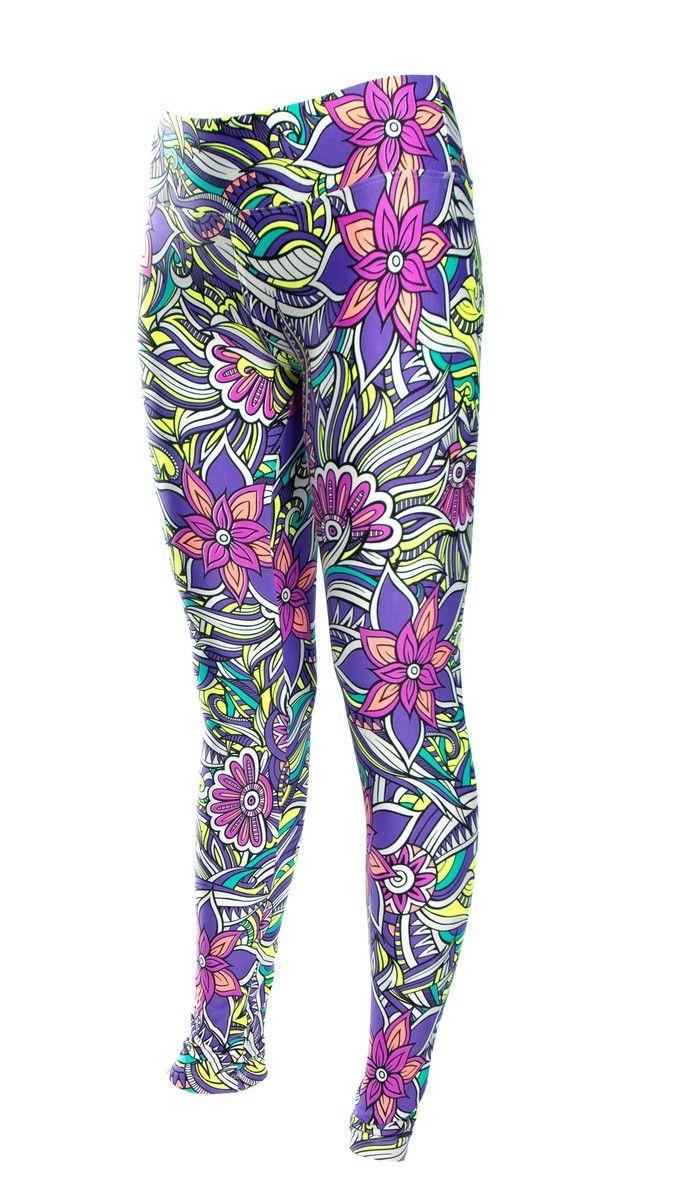 Kleurrijke Bloemen legging