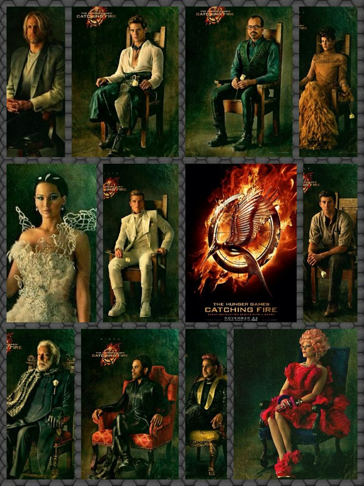 The Hunger Games: Catching Fire Cast - IMDb