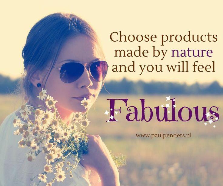 Paul Penders makes you feel fabulous! Choose all natural, organic and vegan skincare!