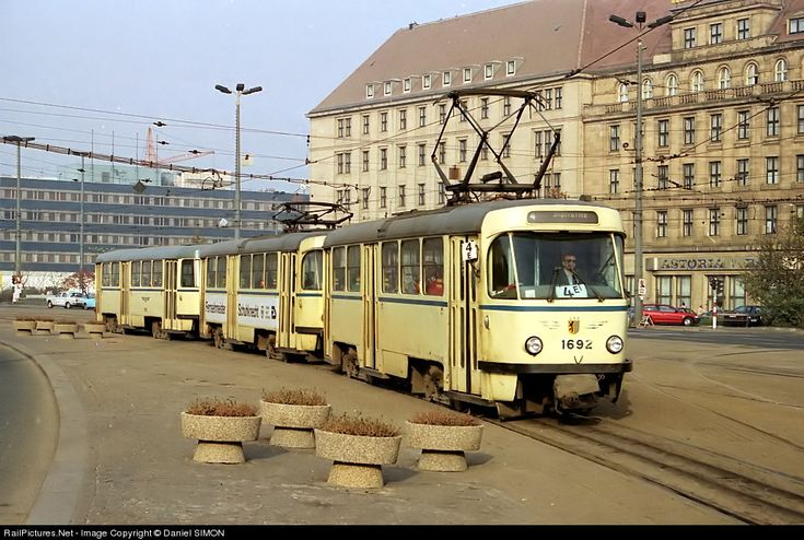 Leipziger Verkehrsbetriebe Tatra T4D at Leipzig, Germany by Daniel SIMON