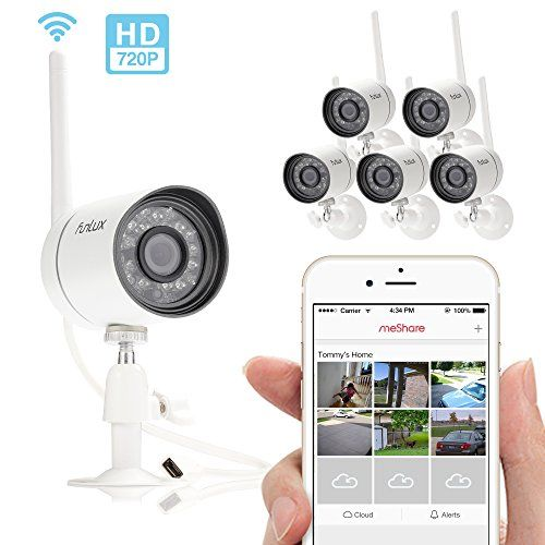 Special Offers - Funlux NEW Outdoor 720P HD Smart Wireless Surveillance Camera System  Set Up in 2 Mins - In stock & Free Shipping. You can save more money! Check It (June 13 2016 at 08:22PM) >> http://smokealarmusa.net/funlux-new-outdoor-720p-hd-smart-wireless-surveillance-camera-system-set-up-in-2-mins/