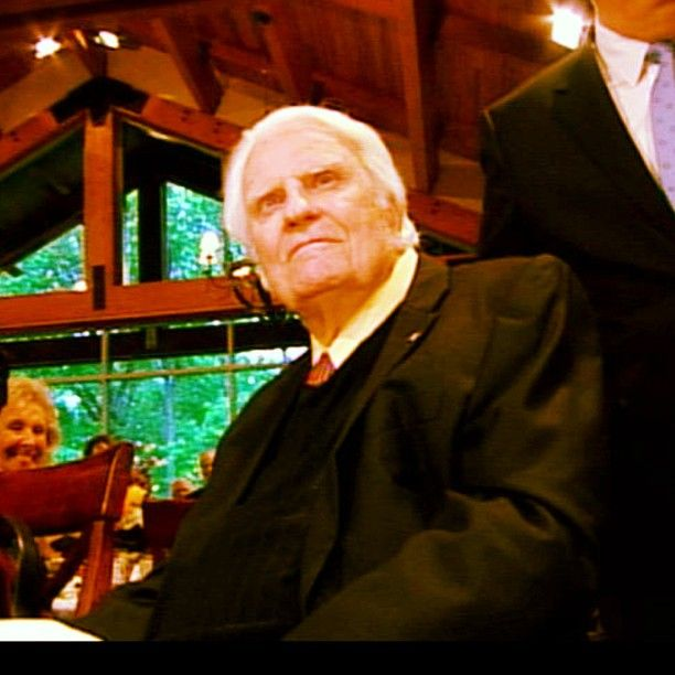 The one and only Rev. Billy Graham celebrated his 94th birthday on Wednesday!