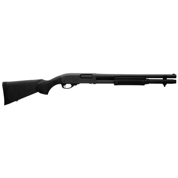 "Remington 25077 870 Express Tactical Pump 12 Gauge 18.5"" 3"" 6+1 CB Synthetic Stock Black"