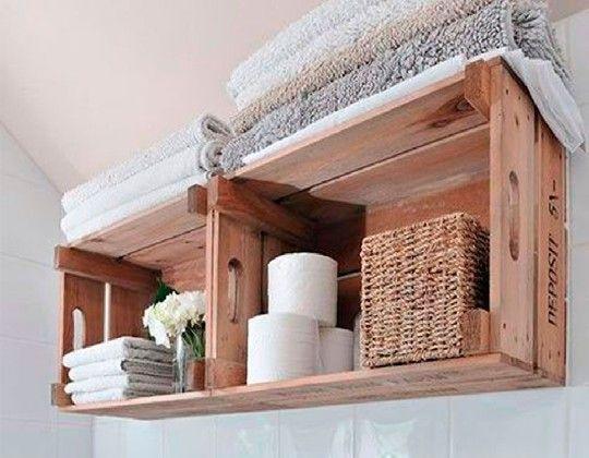 Crea tu propio mueble auxiliar de baño