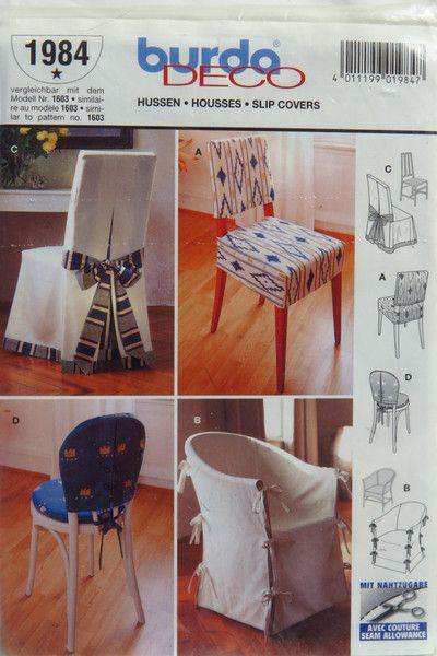 135 best Chair covers images on Pinterest   Jalousien, Stuhlhussen ...