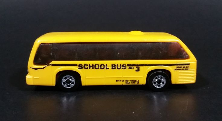 1988 Hot Wheels Rapid Transit School Bus No. 3  Yellow Die Cast Toy Vehicle https://treasurevalleyantiques.com/products/1988-hot-wheels-rapid-transit-school-bus-no-3-yellow-die-cast-toy-vehicle #vintage #1980s #80s #Eighties #HotWheels #RapidTransit #SchoolBus #Bus #Buses #DieCast #Toys #Vehicles #Student #Transportation #Collectibles #Autos #Automobiles #BuyNow #VisitUs