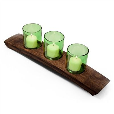 Arctic Votive 3 Green Candle Holder (491563060), Soy & Beeswax Candles & Vintage Candle Holders | bambeco