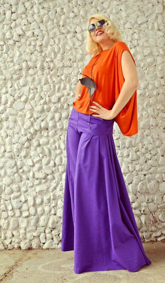 Cotton Palazzo Pants Purple Pants Wide Leg Pants High Waist https://www.etsy.com/listing/287032349/cotton-palazzo-pants-purple-pants-wide?utm_campaign=crowdfire&utm_content=crowdfire&utm_medium=social&utm_source=pinterest