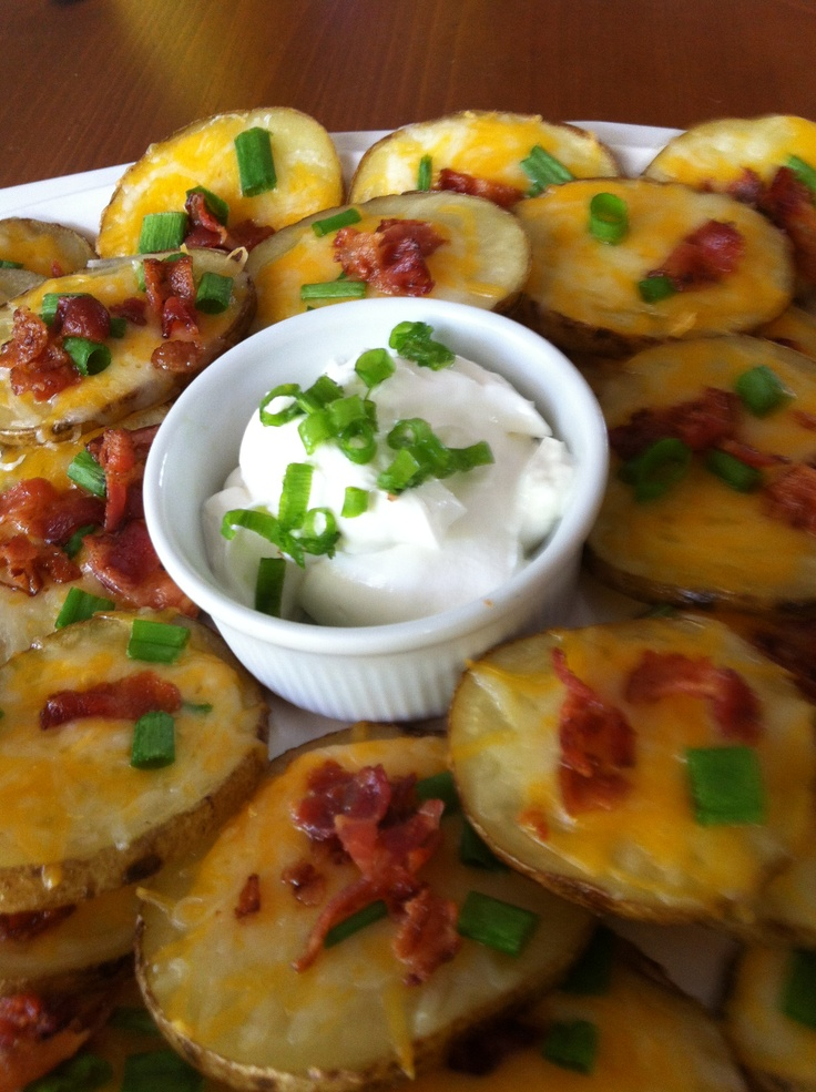 Cheese and Bacon Potato Rounds | Recipe