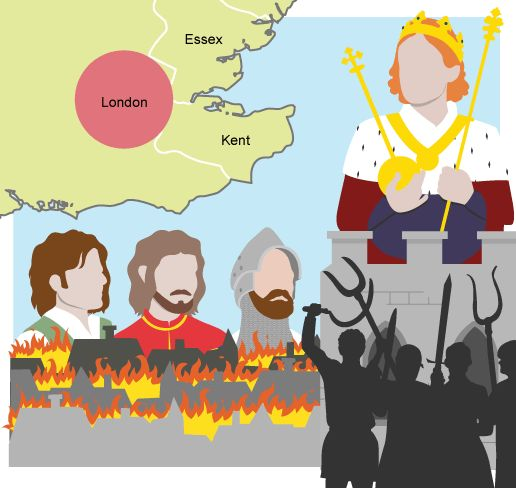 BBC - KS3 Bitesize History - The Peasants' Revolt : Revision, Page 2