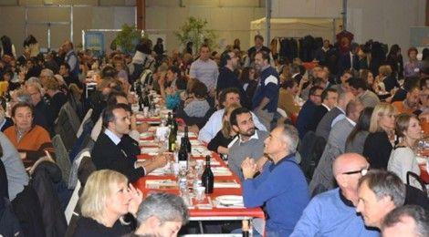 Tutto esaurito con oltre 800 presenze. Un record assoluto al salone delle Feste di Correggio dove il 2 dicembre si è celebrata la Grande Cena organizzata da Boorea e Auser, il più importante evento benefico di raccolta fondi della nostra provincia.