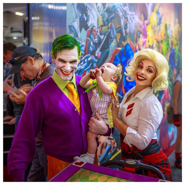 1950s Joker's family | Comic-con 2013