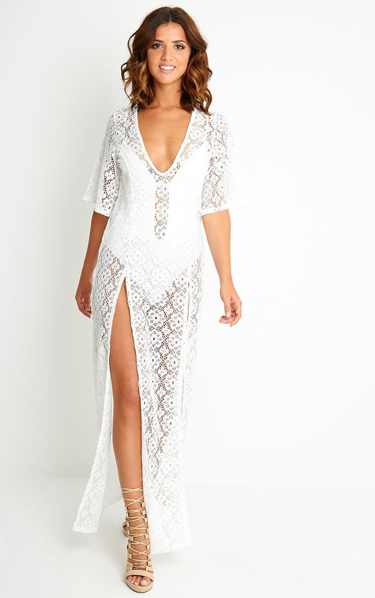Crochet maxi dress next