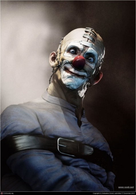 Piccsy :: Freaky clown