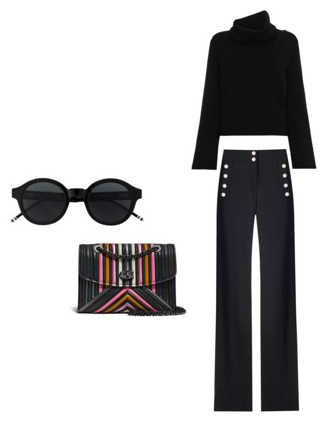 """Untitled #4"" by may-kazoun on Polyvore featuring Coach and Chloé"