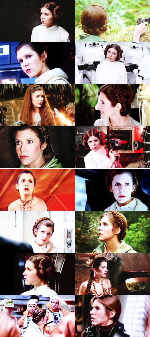 Princess Leia Organa: Listen, I don't know who you are or where you came from, but from now on, you do as I tell you. Okay? #starwars