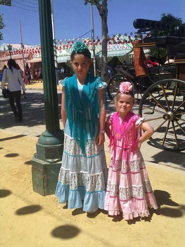 Niñas de Flamenca en Sevilla