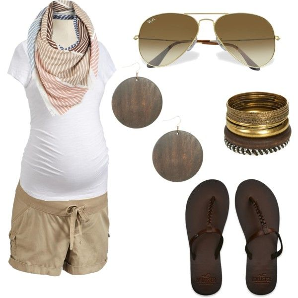 Mama style: Summertime Pregnancy., created by tbombay on Polyvore