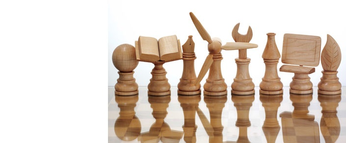 A new take on chess pieces.   From the Summer 2012 RSA Journal