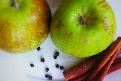 Горячий яблочный сидр