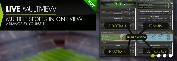 Create and enjoy betting on your own Live Multi view by selecting events from the left hand navigation menu.