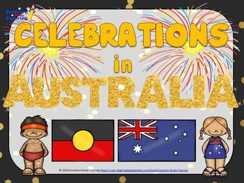 Australian Celebrations - Classroom display posters Click the link below to purchase, print and use in your classroom. https://www.teacherspayteachers.com/Product/Australian-Celebrations-Classroom-display-posters-2594375
