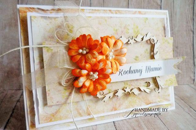 agnieszkapasjonata: kwiaty handmade