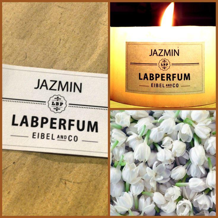¡Deja que entre la primavera en tu casa con nuestra vela de jazmín! #velas #jazmín #labperfum