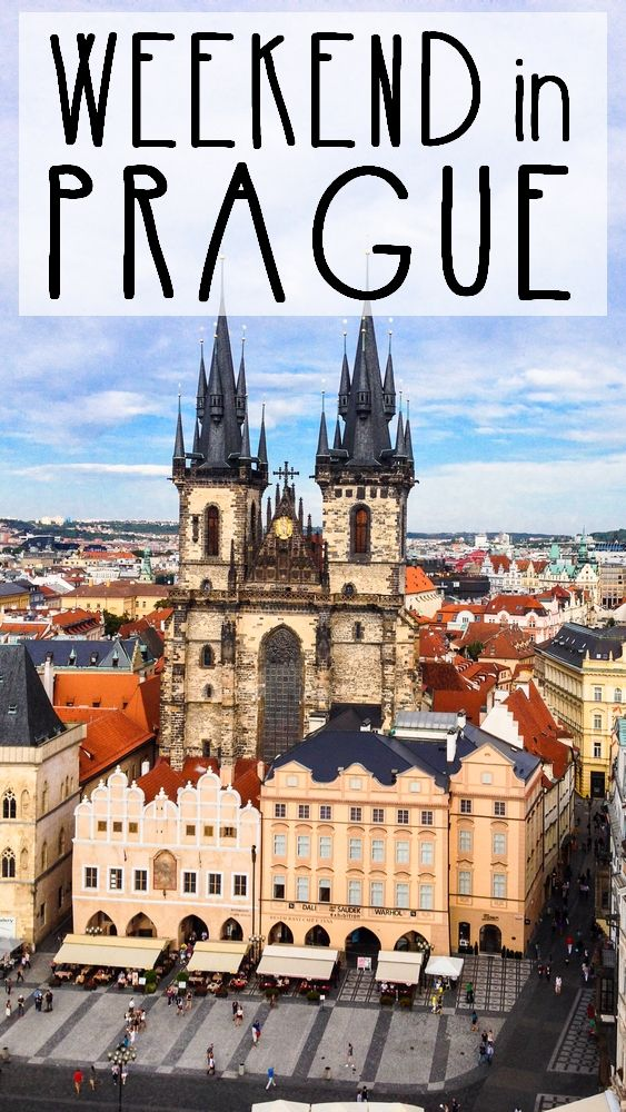 An amazing weekend in an amazing city, Prague sure has a lot to offer!