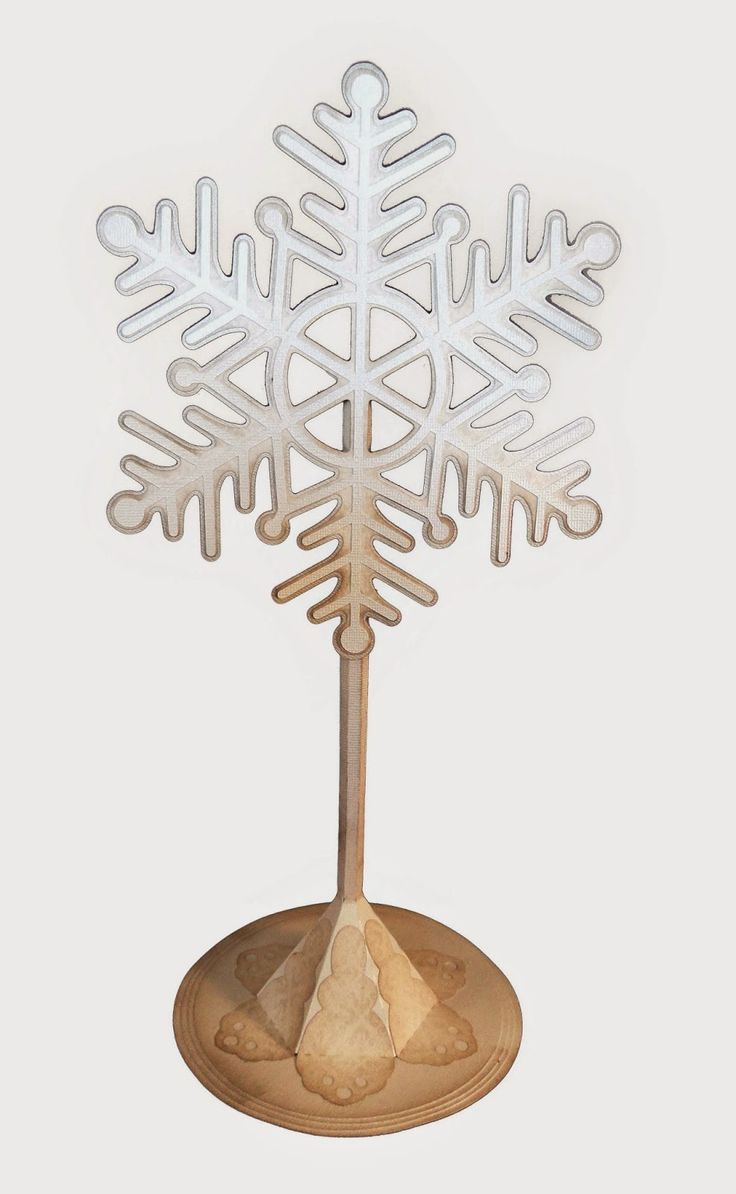 Hanukkah ornaments for a tree - Needles N Knowledge Large Snowflake On Stand Assembly Guide Hanukkah Snowflakesknowledge