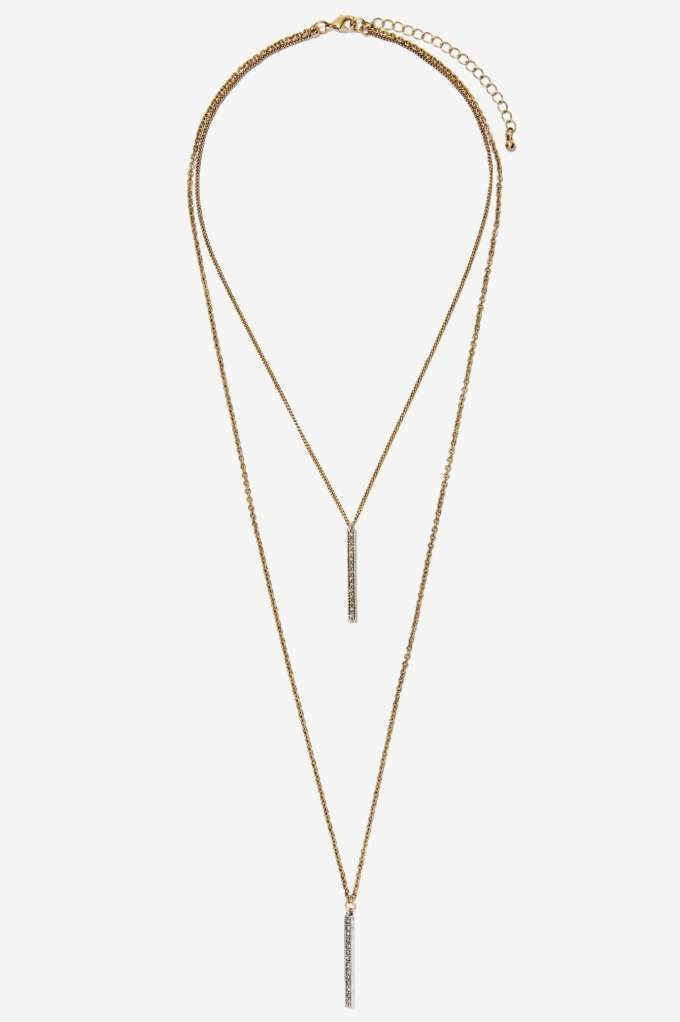 Aida Chain Necklace - Accessories | Necklaces | Gold