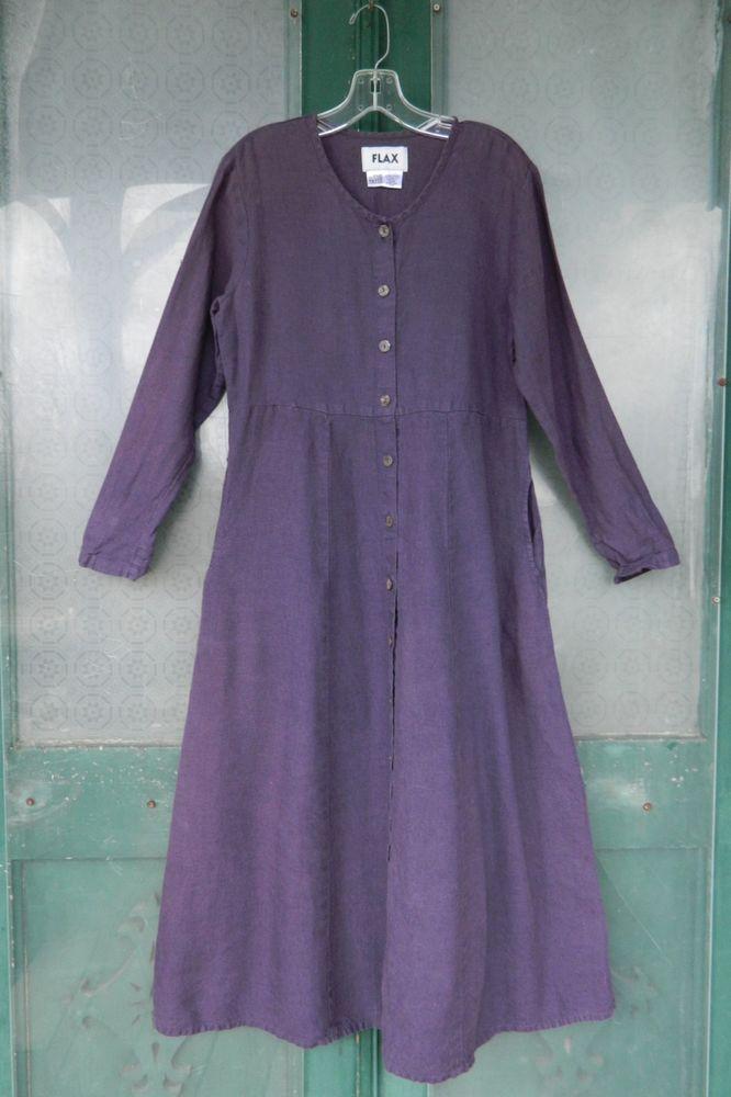 Flax Engelhart Fall Bold 2003 Basic Dress P Xs Mulberry