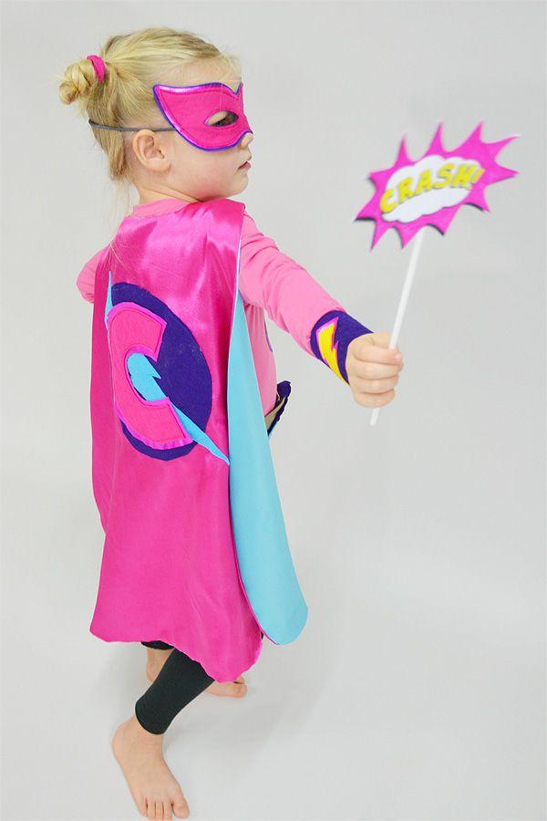 Nähanleitung für freches Superhelden-Kostüm I by Kid5 via Makerist