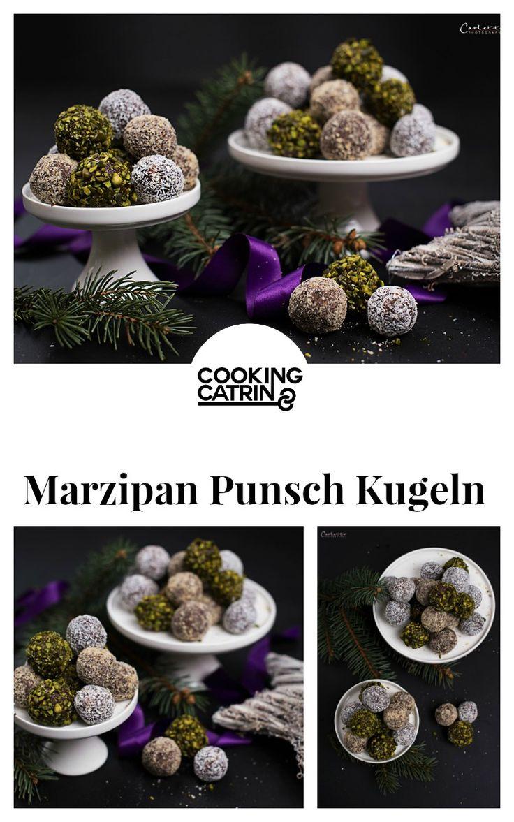 weihnachtskekse, kekse, punsch kugeln, marzipan punsch kugeln, marzipan kugeln, punch balls, marzipan balls, no bake cookies, kekse no bake, christmas, weihnachten...http://www.cookingcatrin.at/marzipan-punsch-kugeln/