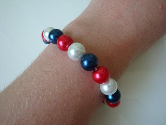 The Queens Jubilee Bracelet by traceysjewellery on Etsy, £4.99