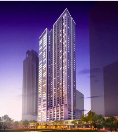 29 Storey Residential Building- Makati City Philippines. Kroma designed by Aidea Philippines Incorporated.
